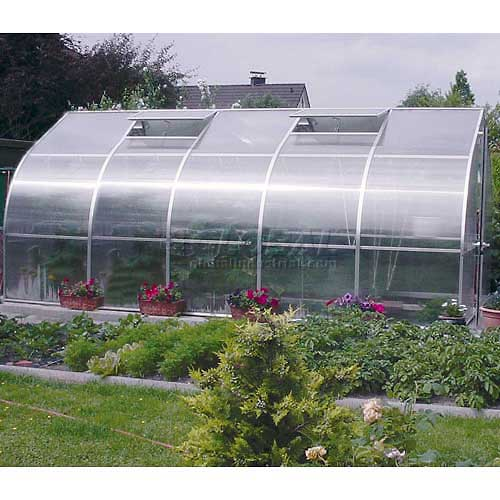 "RIGA V Greenhouse, 17' 2""L x 9' 8""W x 7' 6""H by"